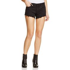 Blanknyc Cutoff Denim Shorts in Pucker Up ($68) ❤ liked on Polyvore featuring shorts, pucker up, short jean shorts, blanknyc, cut-off, denim cutoff shorts and jean shorts