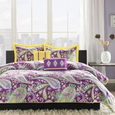 Intelligent Design Kayla Paisley Comforter Set  found at @JCPenney