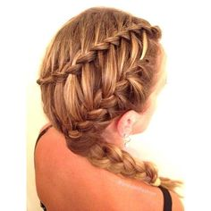 waterfall braid tutorial - Google Search