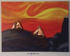 Lighthouse, Copper, Ships, Paintings, Oil, Canvas, Etsy, Bell Rock Lighthouse, Tela