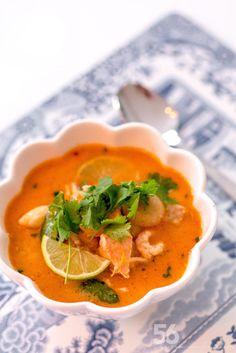 Thailändsk fiskoppa med röd curry - 56kilo.se - Inspiration, Livsstil & LCHF Recept Lchf, Keto Soup, Good Mood, Food Art, Thai Red Curry, Low Carb Recipes, Salads, Food And Drink, Healthy Eating