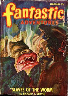 Fantastic Adventures February, 1948