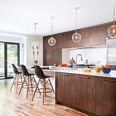 Une cuisine aux accents modernes - Cuisine - Inspirations - Décoration et rénovation - Pratico Pratique