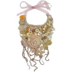 Krista R Reverie; Embroidered Necklace ($450) via Polyvore