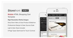 Front Mobile Html Template By Obest On Themeforest Is A Ping Cart Written In Which