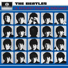 Paul McCartney, John Lennon, George Harrison, Ringo Starr, and The Beatles in A Hard Day's Night Beatles Songs, Beatles Album Covers, Les Beatles, Music Albums, Beatles Bible, Beatles Funny, Beatles Poster, Beatles Band, Vinyls