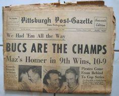 Bill Mazeroski – The Pittsburgh Peas Mlb Pirates, Pittsburgh Pirates Baseball, Pittsburgh City, Pittsburgh Sports, Pittsburgh Neighborhoods, 1960 World Series, Pirate Photo, Roberto Clemente, Sports Memes