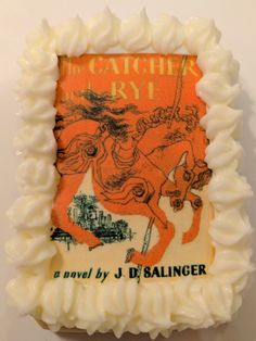 Catcher in the Rye cookie Edible Printing, Catcher In The Rye, Cursed Child Book, Cookies, Amazing, Prints, Art, Crack Crackers, Art Background