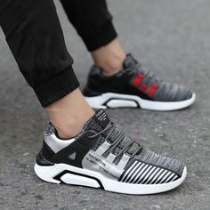39cdf950616e Mens Running Shoes Sneakers Breathable Sports Mesh Fitness Trainers Color   white