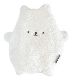 Mana'o Nani knuffelbeertje voor onderweg Coco wit in cadeaudoosje - Ikbenzomooi.nl