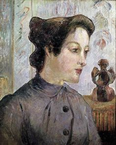 Portrait of a Young Woman - Paul Gauguin 1886