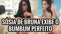 Quebrou a internet! Sósia de Bruna Marquezine exibe o bumbum perfeito