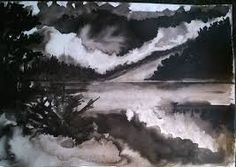 Résultats de recherche d'images pour «mer encre de chine»