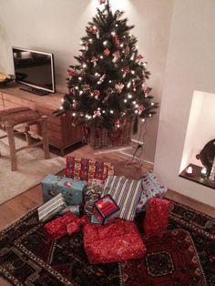 Sinterklaasavond met een kerst sfeer.