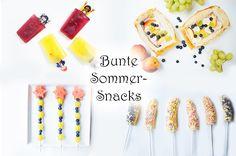 Das große Sommerfest: bunte Sommer-Snacks für Kinder