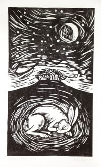 Sleeping hare