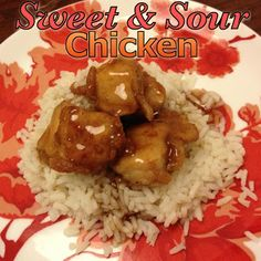 EmilyCanBake: Sweet and Sour Chicken