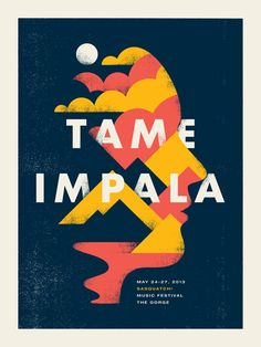 Gig posters / Tame Impala - Doublenaut