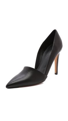 So happy the pointed toe is coming back!!!  Vince Anya Asymmetrical Pumps $375
