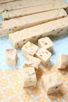 Irish Cream Fudge with Pistachios (coming Xmas 2012) probably with toasted almonds instead