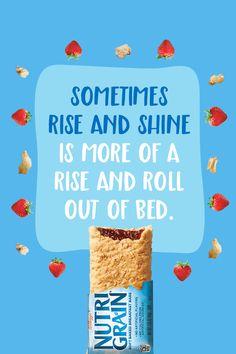 Nothing says good morning like Nutri-Grain. Made with real fruit and whole grains. Starbucks Recepten, Aardbeien Ontbijt, Gehaakte Koe, Mueslirepen, Gehaakte Kleding, Bijbelstudies, Pocoyo, Musica