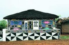Esther Mahlangu - Ndebele artist - Google Search