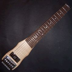 Lapstick travel guitar - custom
