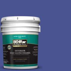 #P540-7 Canyon Iris Semi-Gloss Enamel Exterior Paint