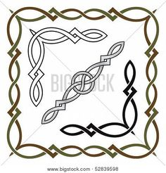 Find Celtic Knot Frame Corner Divider Elements stock images in HD and millions of other royalty-free stock photos, illustrations and vectors in the Shutterstock collection. Viking Symbols, Egyptian Symbols, Viking Runes, Viking Knotwork, Mayan Symbols, Ancient Symbols, Friendship Symbol Tattoos, New Beginning Tattoo, Celtic Border