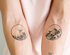 6 Travel Temporary Tattoos Pack  SmashTat