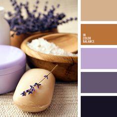 палитры для дизайнера, сиреневый, темно-сиреневый цвет, фиолетовый и коричневый, цвет корицы, цвет шоколада, цвета для декора, цветовое решение, цветовые палитры для декора, шоколадный цвет.