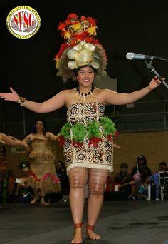 Taupou for Samoan Independence Day festival in Sydney, 2014.