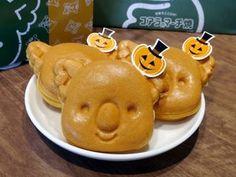 ハロウィン仕様のマーチ君が可愛い!「コアラのマーチ焼 北海道かぼちゃ」
