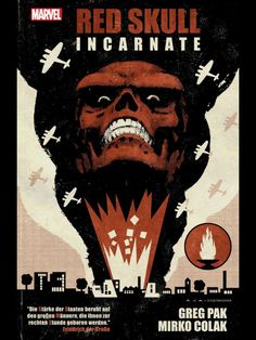 Red Skull: Incarnate by Greg Pak (Marvel Comics) Best Comic Books, Marvel Comic Books, Comic Books Art, Book Art, Captain America Villains, Marvel Villains, Capt America, Crane Rouge, Red Skull Marvel