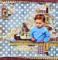 Treasured Memories - Teddy Bear's Picnic collection.  http://cathycafun.blogspot.com.au/2014/09/kaisercraft-dt-teddy-bears-picnic.html