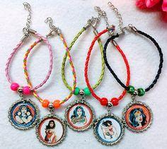 10 Pcs Woman Wonder Multi Color  Bracelets Party by getparty