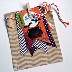 Stampin' Up! Tee Hee Hee Treat Bag - Another workshop project