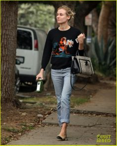 Diane Kruger out in Beverly Hills