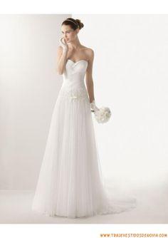 Vestido novia palabra de honor Palabra de www.palmiracompilar.com #homenajeatuangel