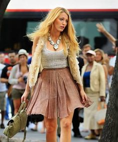 Gossip Girl, love the outfit! | Serena
