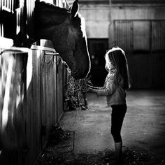 Truest of friends: girl and horse