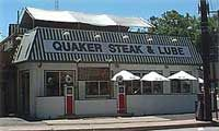 Quaker Steak & Lube  Sharon, Pennsylvania ...  Quaker Steak and Lube is reason enough to make the trip to Sharon. Housed in an old gas station, some other vintage buildings and a train car, the Lube claims the best wings in the whole country.