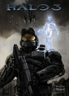 cortana_chief__halo_Isaac_Hannaford.jpg (1143×1600)