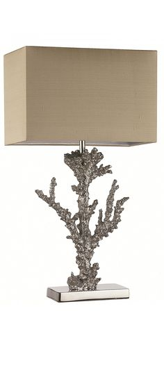 heathfield Coral Table Lamp Luxury Furniture from Absolute Luxury Furniture Table Lamp Design, Silver Lamp, Table Lamp, Coral Lamp, Hotel Lighting Design, Table Lamp Luxury, Hotel Table Lamp, Silver Table Lamps, Luxury Lamps