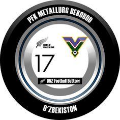 DNZ Football Buttons: PFK Metallurg Bekobod                                                                                                                                                                                 Mais