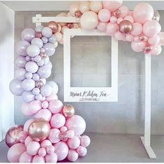 Balloon or bubble frame around oversized poloroid frames for photo booth - . - Pyjamaparty - Balloon or bubble frame around oversized poloroid frame for photo booth – bubble frame - Deco Baby Shower, Baby Shower Photo Booth, Shower Party, Bridal Shower, Baby Shower Pink, Lavender Baby Showers, Baby Shower Backdrop, Shower Gifts, Polaroid Photo Booths