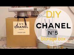 DIY Chanel No. 5 Perfume Bottle Storage Box