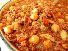 delectable eclectic: Chorizo Chili