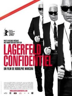 Films with fashion influence - 2007 Lagerfeld Confidential poster