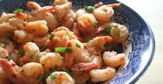 Some Like it Hot! Firecracker Shrimp is low calorie and low carb!
